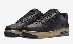 Nike Air Force 1 Low Elite-Black-Tawny-Black-3