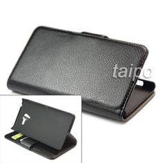 Wallet Litchi Leather Stand Skin Case Cover For Sony Xperia ZL L35h Black in Cases, Covers, Skins | eBay