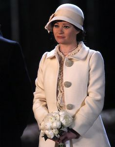 Belle got married in a cloche hat!! The perfection and utter librarian-ness of it is fully respected. OUAT