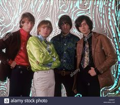 Download this stock image: YARDBIRDS UK pop group in 1966 from l: Chris Dreja (bass guitar) Keith Relf (vocals) Jim McCarty (drums) Jimmy Page(lead guitar) - A04W3T from Alamy's library of millions of high resolution stock photos, illustrations and vectors.