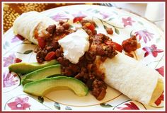 Chili Burritos from @Lea Brown