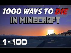 1000 Ways to Die in Minecraft! (1-100)