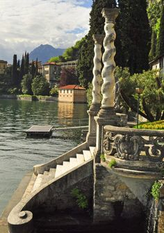Villa Monastero, Varenna on Lake Como. Its name derives from the original function which was a Cistercian Convent dedicated to St Mary Magadalen Oh The Places You'll Go, Places To Travel, Places To Visit, Lac Como, Siena Toscana, Varenna Lake Como, Comer See, Lake Como Italy, Italian Lakes