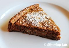 Apple and Sultana Cake | Slimming Eats - Slimming World Recipes