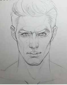 New drawing portrait male character design 61 ideas Male Face Drawing, Guy Drawing, Drawing People, Face Art, Drawing Sketches, Cool Drawings, Painting & Drawing, Human Face Sketch, Sketching