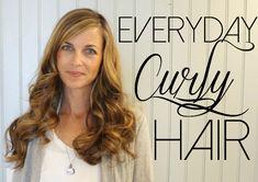everyday curly hair