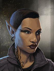 Character and NPC Portraits from Shadowrun Returns and Shadowrun: Dragonfall