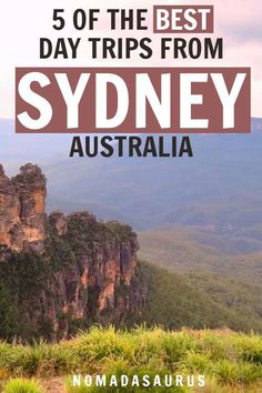 Here are the BEST day trips from Sydney, Australia. #sydney #australia #sydneytravel