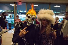 Ghost Rider and our CMO!
