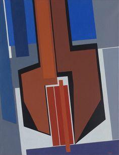 Gualtiero Nativi - Costruzioni - Acrilico su tela - 50x65 - 1982