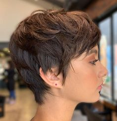 Short Haircuts for Women with Fine Hair 2019 Layered Short Haircuts for Women with Fine Hair 2019 - - Short Hairstyles - Hairstyles Short Haircuts for Women with Fine Hair 2019 - - Short Hairstyles - Hairstyles 2019 New Short Haircuts, Short Shag Hairstyles, Haircuts For Fine Hair, Short Hairstyles For Women, Girl Haircuts, Short Hair Cuts For Women, Pixies, Hair Trends, Hair Inspiration