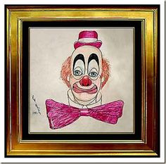Red-Skelton-Clowning-Around painting