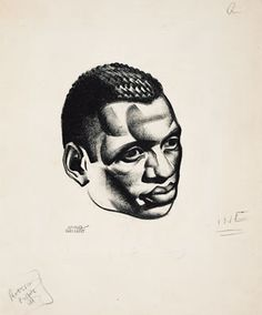 Illustration of Paul Robeson