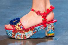 Fashionista's 25 Favorite Shoes from Spring 2016. Your footwear forecast is looking pretty wild.