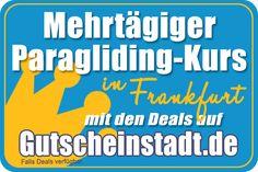 Mehrtägiger Paragliding-Kurs in Frankfurt/Main mit Gutscheinstadt