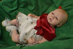 Maxime by Danielle Zweers, Now LEXIE, 3-Month-Old Christmas Reborn Baby Doll
