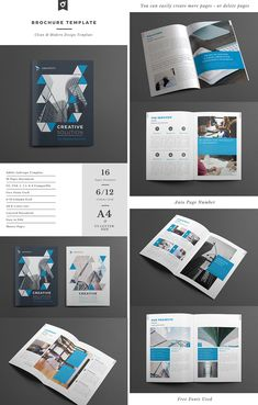 Creative Business Brochure Template INDD