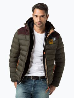 Napapijri Męska kurtka pikowana – Noyhon