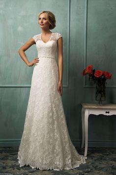 Neu Weiß/Elfenbein Spitze Ärmellos Brautkleider Hochzeitskleider Gr:36/38/40/42+ in Kleidung & Accessoires, Hochzeit & Besondere Anlässe, Brautkleider | eBay!