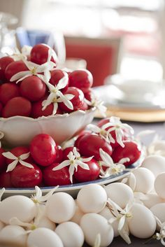 Greek Easter Tablescape   Heather Christo Cooks