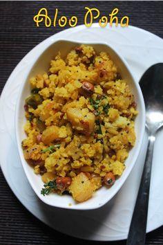 YUMMY TUMMY: Aloo Poha Recipe / Batata Poha Recipe / Potato Poha Recipe