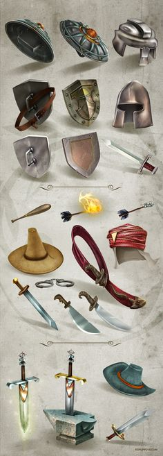 Props by Giovanni Maisto , via Behance