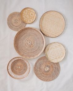 Olive & Iris - Online store for Ethical Eco-friendly Handmade Home Accessories Home Décor Basket Bags Woven Plate Wall Hanging Tea Strainer Gifts etc. Hanging Wall Baskets, Hanging Plates, Wall Hanging Decor, Home Decor Baskets, Basket Decoration, Plate Wall Decor, Plates On Wall, Handmade Home, Wooden Basket