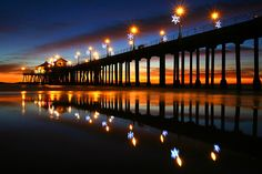 Huntington Beach, California.  My best friend lives here and I know how lucky I am to have an excuse to come and chill at the beach for a weekend whenever I'm back in the states!
