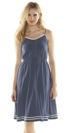 Disney's Minnie Mouse a Collection by LC Lauren Conrad Polka-Dot Dress - Women's