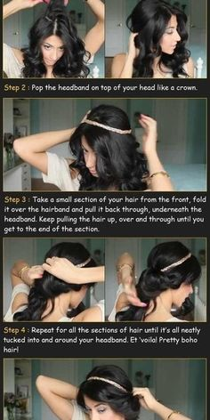 Quick hairstyles for school!   Beautylish