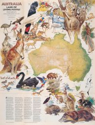 Australia Land of Living Fossils. 1979