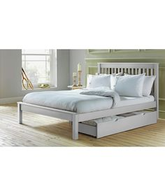 Buy Aspley Double Bed Frame - White at Argos.co.uk - Your Online Shop for Bed…
