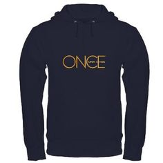 Once upon a time hoodie, large, navy.