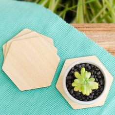 Products | Home Decor by Yano Designs - Designed & made with ♥ in Melbourne | Australia. Bamboo Coasters (plain)