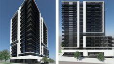 67-73 Flemington Road, North Melbourne. Image © David Watson Architects