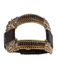 Annie Hammer Stingray Window Bracelet