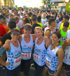Gemma Cartwright`s Parkinson Charity Running Group is preparing for the Lanzarote International Marathon 2015 at the Disco Night Urban Race! #4Parkinson