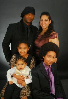 Mixed Race Family : The Jamran Family