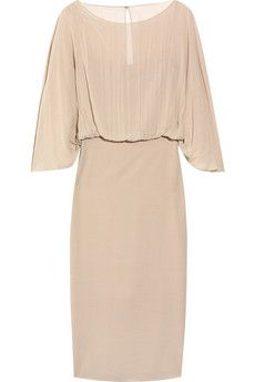 THE ROW  Conti silk-blend dress  $2,200