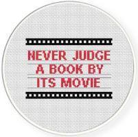 Don't Judge Cross Stitch Pattern - via @Craftsy