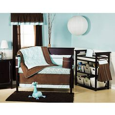 Li'l Kids - Serenity 4 pc Crib Bedding. $74.97 from Walmart