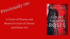 Previously On: A Court of Thorns and Roses (A Court of Thorns and Roses - Playground of Randomness Warrior Names, Feyre And Rhysand, Can You Be, S Stories, New Series, Book Reviews, Betrayal, Better Life, Book Quotes