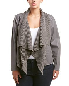 Maison Jules Womens Long Sleeve Blazer Jacket Medium Blue Notte ** You can find out more details at the link of the image.