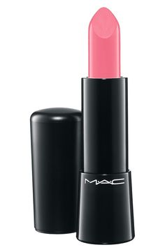 Perfect shade of pink lipstick.