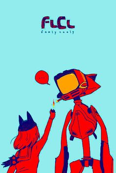 FLCL | Fooly Cooly by Gainax | Mamimi Canti
