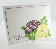 Stampin' Up! Betsy's Blossoms