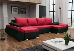 Rozkládací sedací souprava CARO U   Expedo.cz Outdoor Sectional, Sectional Sofa, Couch, Sofas, Outdoor Furniture, Outdoor Decor, Elegant, Home Decor, Products