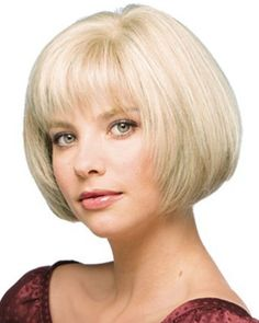 Custom Human Hair Short Straight Ash Blonde about 8 Inches Classic Bob Wig Get unbelievable discounts up to Off at Wigs with coupon and Promo Codes. Bob Hairstyles With Bangs, Haircuts For Fine Hair, Wig Hairstyles, Everyday Hairstyles, Hairdos, 100 Human Hair Wigs, Cheap Human Hair, Remy Human Hair, Short Bob Wigs