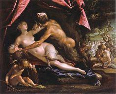 """Hans von Aachen: """"Pan and Selene"""""""