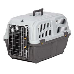 """Midwest Skudo Pet Travel Carrier Gray 23.625"""" x 15.75"""" x 15.125"""""""